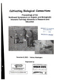 Cultivating Biological Connections Book