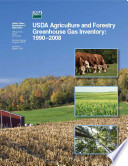 U.S. Agriculture and Forestry Greenhouse Gas Inventory: 1990-2008