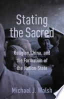 Stating The Sacred