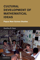 Cultural Development of Mathematical Ideas
