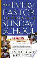 What Every Pastor Should Know About Sunday School