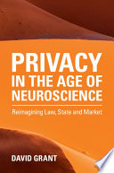 Privacy in the Age of Neuroscience Book