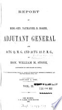 Report of Nathaniel B. Baker, Adjutant-General of Iowa...