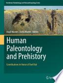 Human Paleontology and Prehistory Book