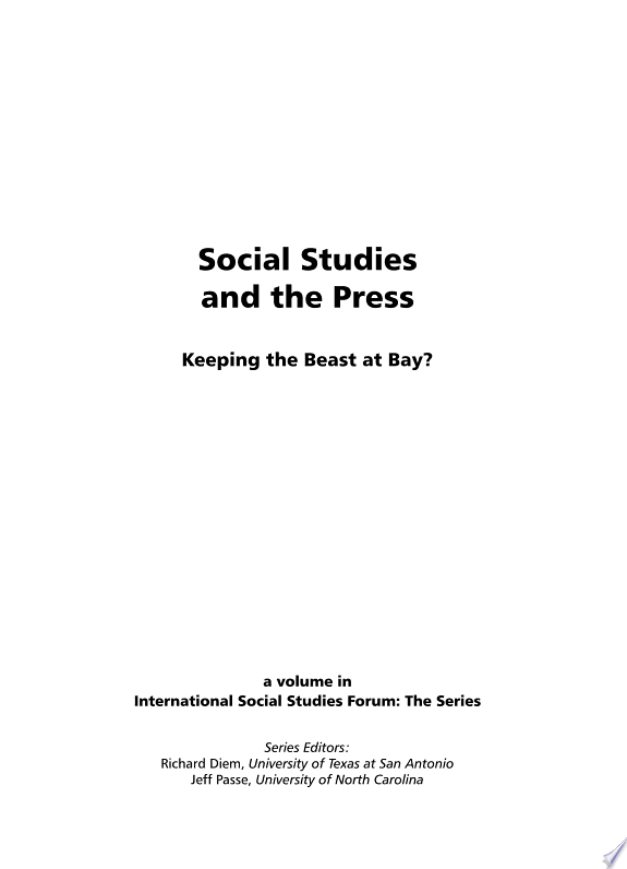 Social Studies and the Press