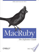 Macruby The Definitive Guide Book PDF