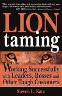 Lion Taming