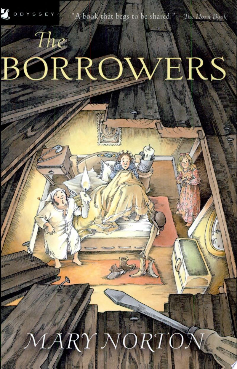 The Borrowers banner backdrop