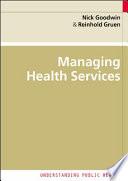 Ebook Managing Health Services