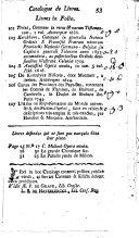Catalogue d'une belle et riche collection de livres ... délaissés par feu messieurs De Loose, Van Damme et Duermael, ... avocats