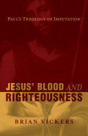 Pdf Jesus' Blood and Righteousness Telecharger
