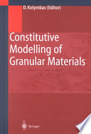 Constitutive Modelling Of Granular Materials Book PDF