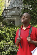 Black Graduate Education at Historically Black Colleges and Universities
