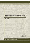 Advanced Materials and Processes: ADME 2011 Pdf/ePub eBook