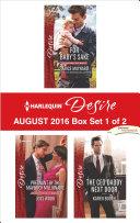 Harlequin Desire August 2016 - Box Set 1 of 2