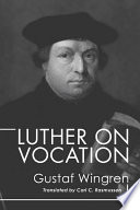 Luther On Vocation