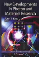New Developments in Photon and Materials Research