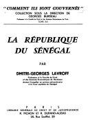 La République du Sénégal