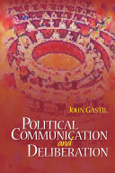 Pdf Political Communication and Deliberation Telecharger