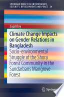 Climate Change Impacts on Gender Relations in Bangladesh Book