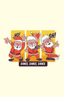Funny Dabbing Santa Santa Claus   Journal Journal Lined about A5 FORMAT   Notepad for School and Work  Christmas Theme Christmas