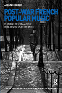 Pdf Post-War French Popular Music: Cultural Identity and the Brel-Brassens-Ferré Myth Telecharger