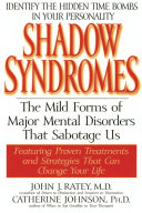 Shadow Syndromes Book