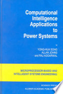 Computational Intelligence Applications To Power Systems Book PDF