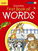 Gage Canadian First Book of Words  text  large Print