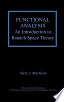 Functional Analysis Book PDF