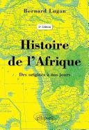 Pdf Histoire de l'Afrique – Des origines à nos jours - 2e édition Telecharger