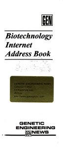 Biotechnology Internet Address Book