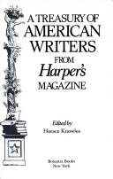 A Treasury of American Writers from Harper's Magazine