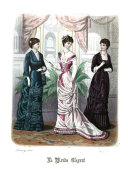 Townsend's monthly selection of Parisian costumes