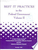 Best IT Practices in the Federal Government