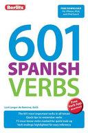 601 Spanish Verbs Book