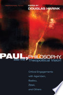 Paul Philosophy And The Theopolitical Vision
