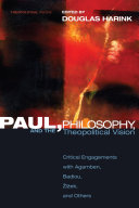 Paul, Philosophy, and the Theopolitical Vision Pdf/ePub eBook