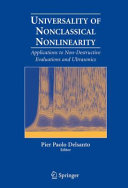 Pdf Universality of Nonclassical Nonlinearity Telecharger