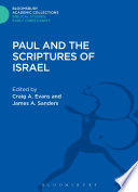Paul and the Scriptures of Israel Book