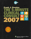 The 5-minute Clinical Consult 2007