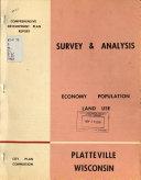Population  Land Use and Economy  Survey and Analysis