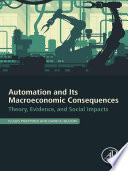 Automation and Its Macroeconomic Consequences Book