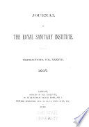 Journal of the Royal Sanitary Institute