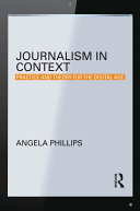 Pdf Journalism in Context Telecharger