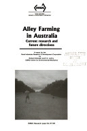 Alley Farming In Australia