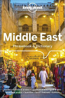 Lonely Planet Middle East Phrasebook   Dictionary