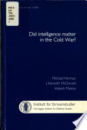 Defence and security studies