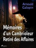 Pdf Mémoires d'un Cambrioleur Retiré des Affaires Telecharger