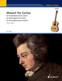 Pdf Mozart for Guitar Telecharger